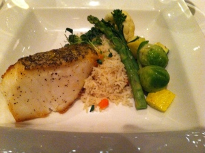 sea bass at madisons