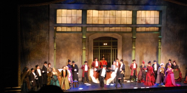 Die Fledermaus curtain call